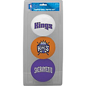 Rawlings Sacramento Kings Softee Basketball 3-Ball Set