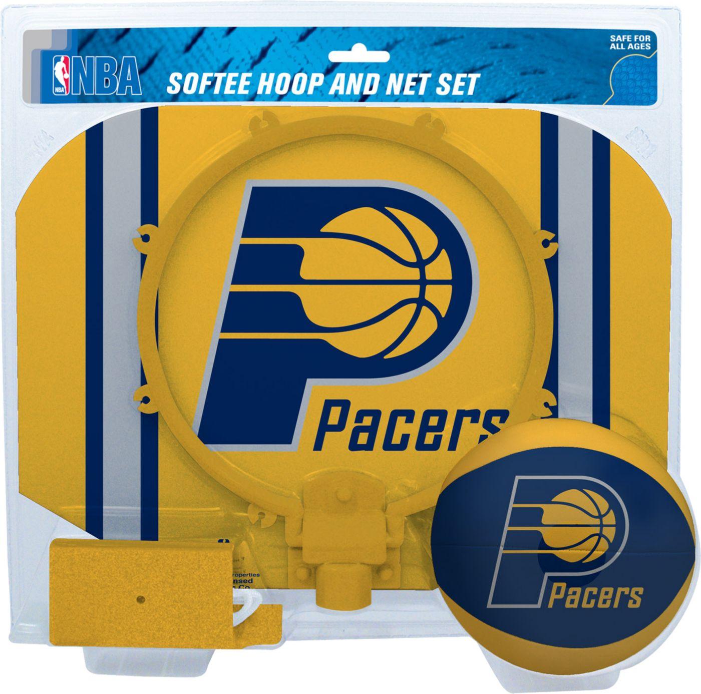 Rawlings Indiana Pacers Softee Basketball Hoop and Ball Set