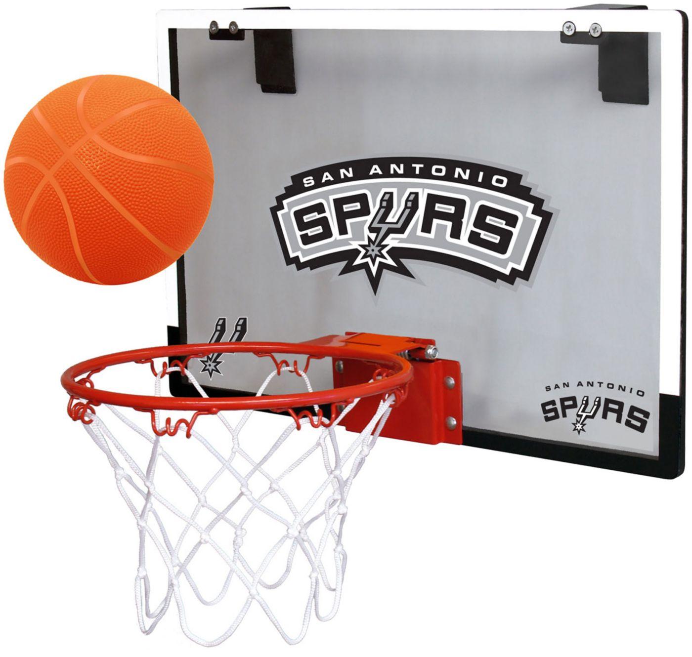 Rawlings San Antonio Spurs Game On Backboard Hoop Set