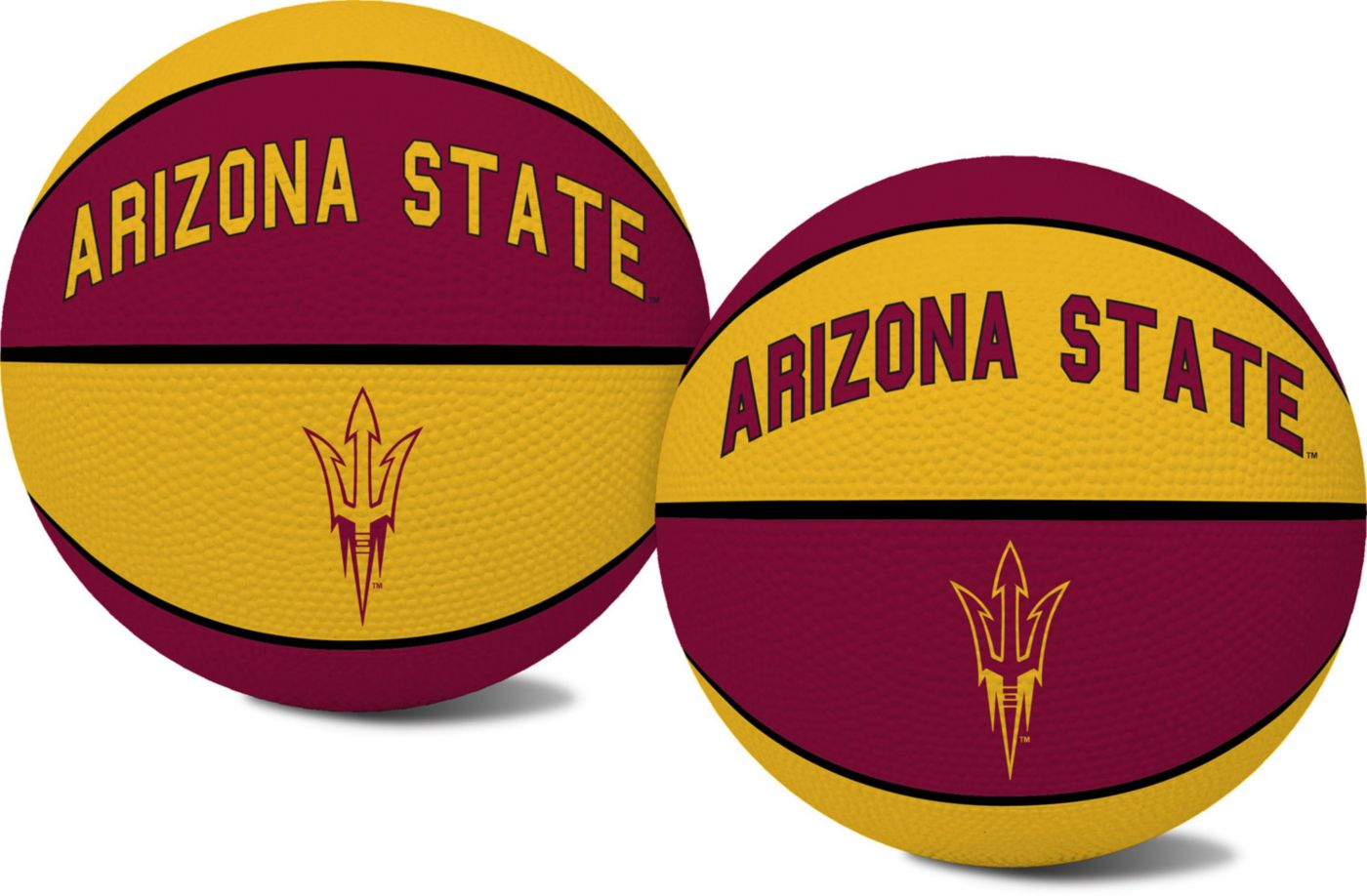 Rawlings Arizona State Sun Devils Youth-Sized Alley Oop Rubber Basketball