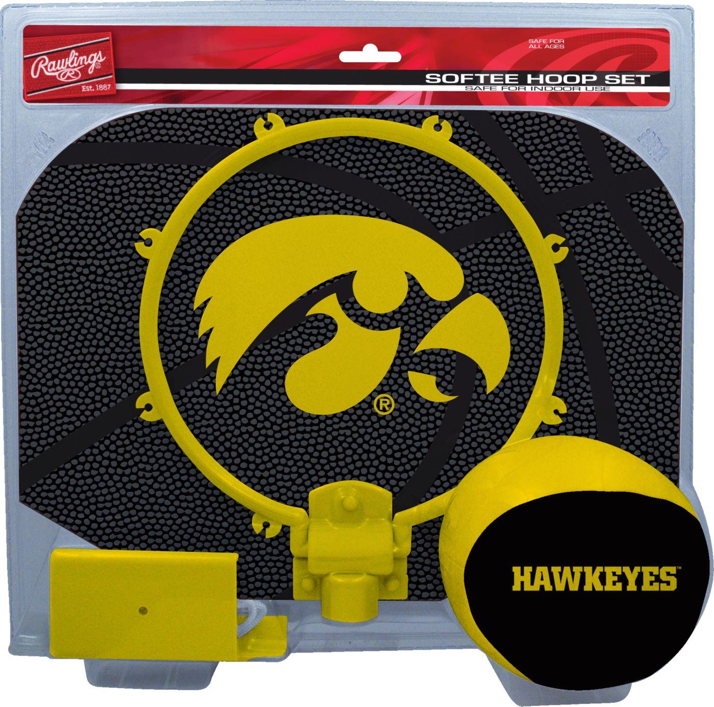 Rawlings Iowa Hawkeyes Softee Hoop Set