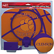 Rawlings Clemson Tigers Slam Dunk Basketball Softee Hoop Set