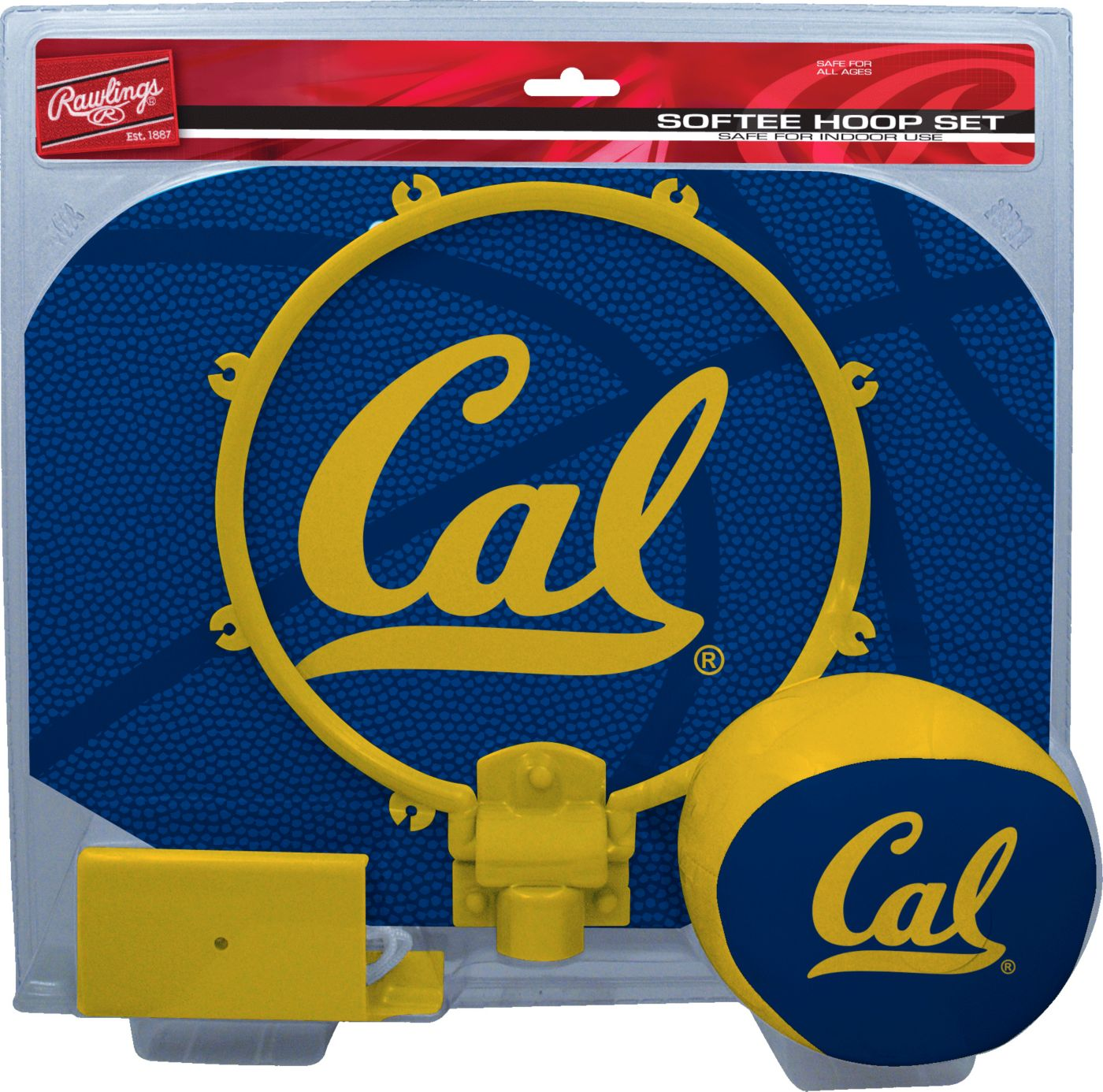 Rawlings Cal Golden Bears Softee Hoop Set