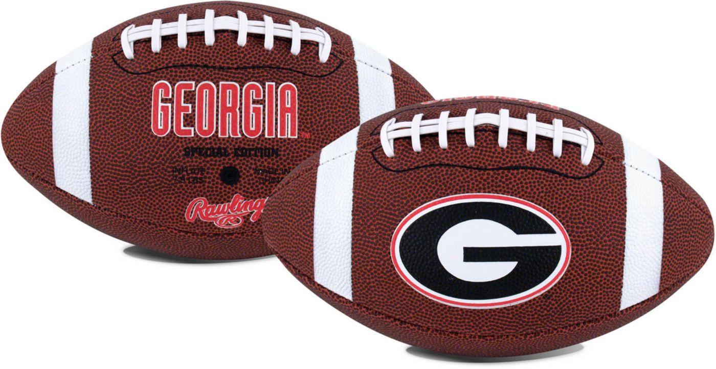Rawlings Georgia Bulldogs Game Time Full-Size Football