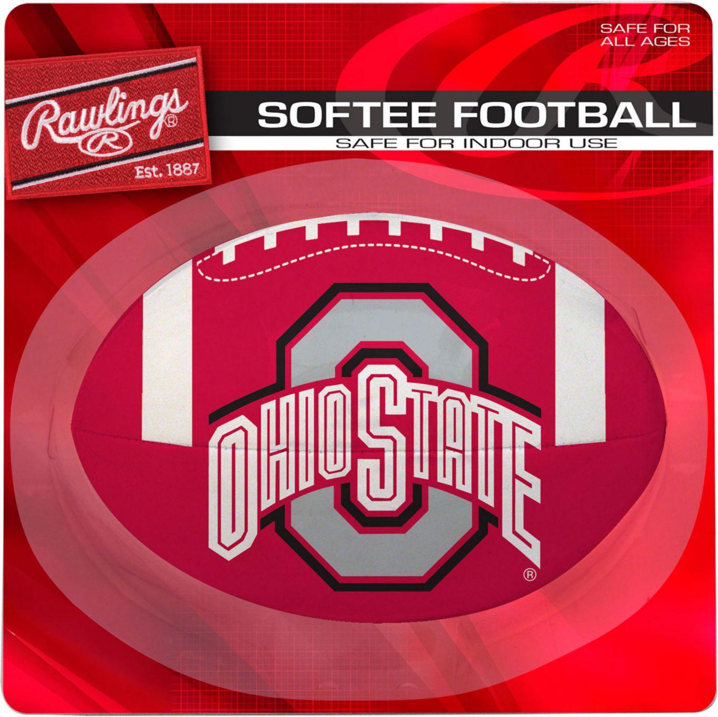 Rawlings Ohio State Buckeyes Quick Toss Softee Football