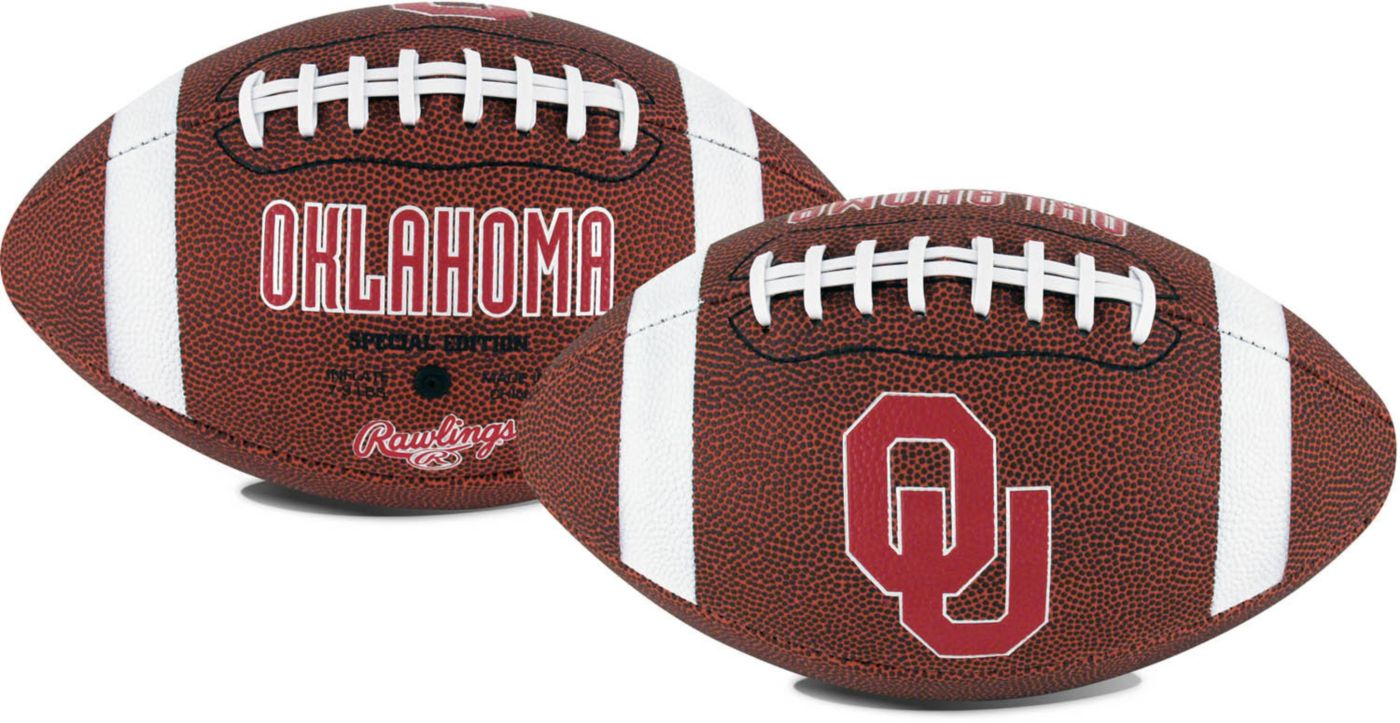 Rawlings Oklahoma Sooners Full-Sized Game Time Football