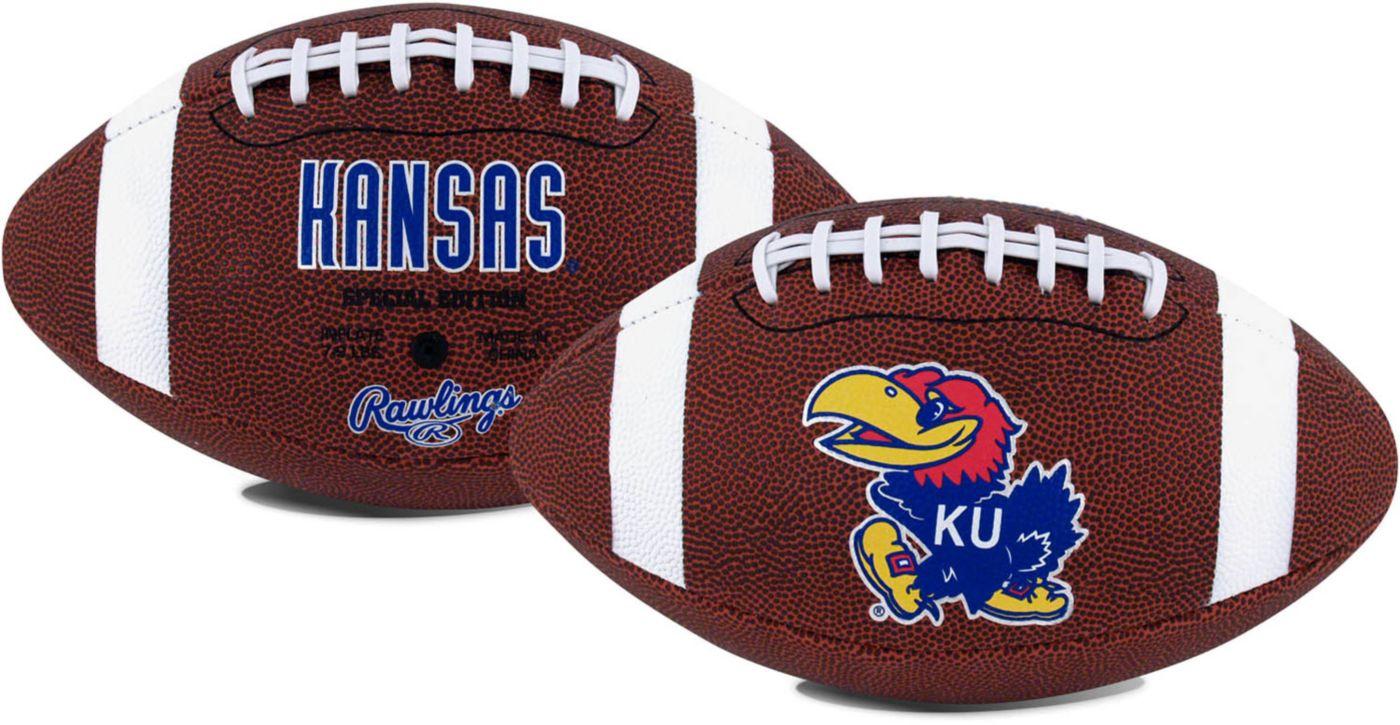 Rawlings Kansas Jayhawks Game Time Full-Sized Football