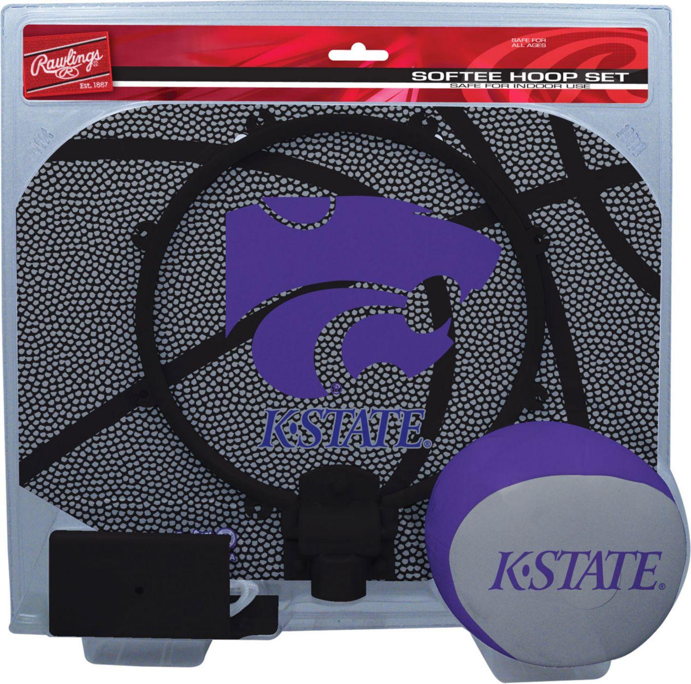 Rawlings Kansas State Wildcats Softee Slam Dunk Hoop Set