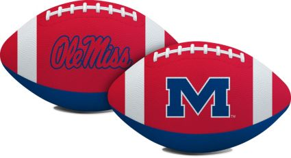Rawlings Ole Miss Rebels Youth Sized Hail Mary Rubber Football