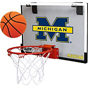Rawlings Michigan Wolverines Game On Backboard Hoop Set