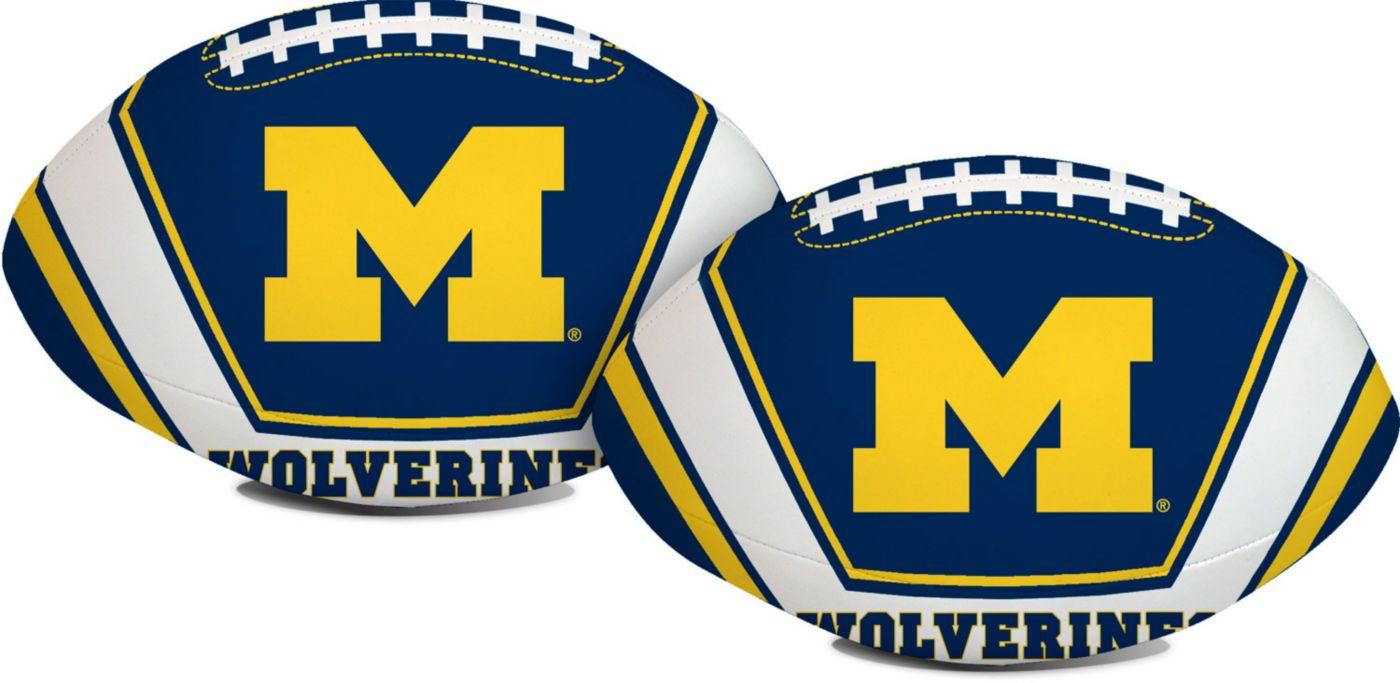 "Rawlings Michigan Wolverines 8"" Goal Line Softee Football"