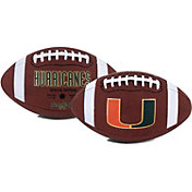 Rawlings Miami Hurricanes Game Time Full-Size Football