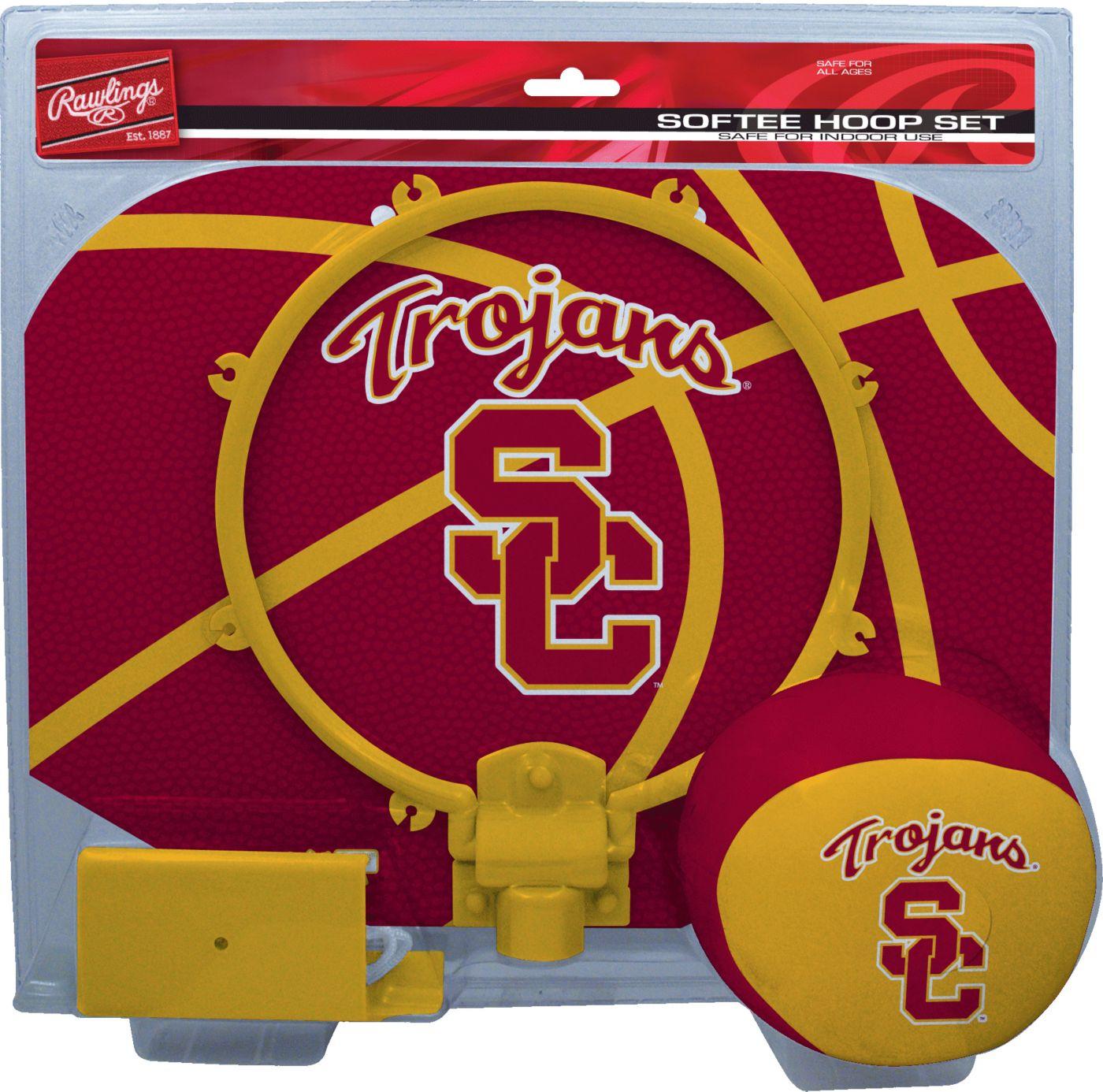 Rawlings USC Trojans Softee Hoop Set