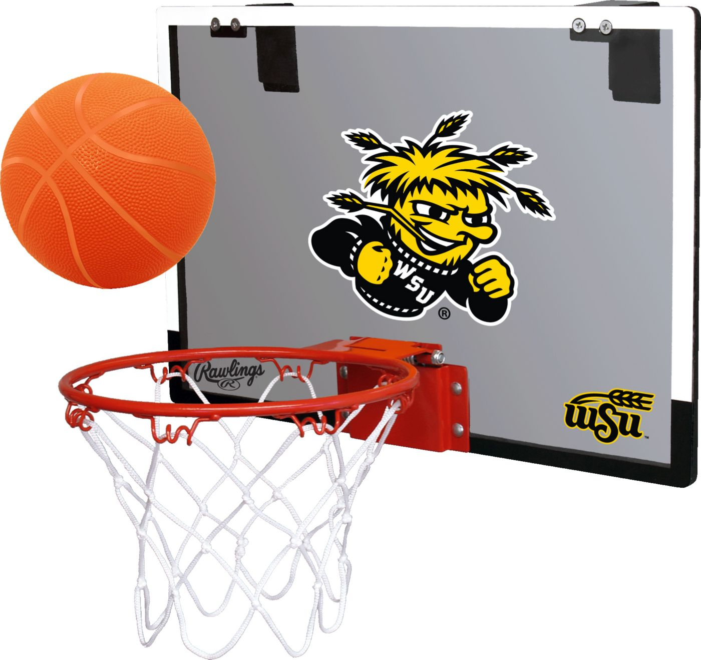 Rawlings Wichita State Shockers Game On Back Board Hoop Set