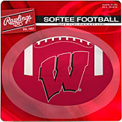 Rawlings Wisconsin Badgers Quick Toss Softee Football