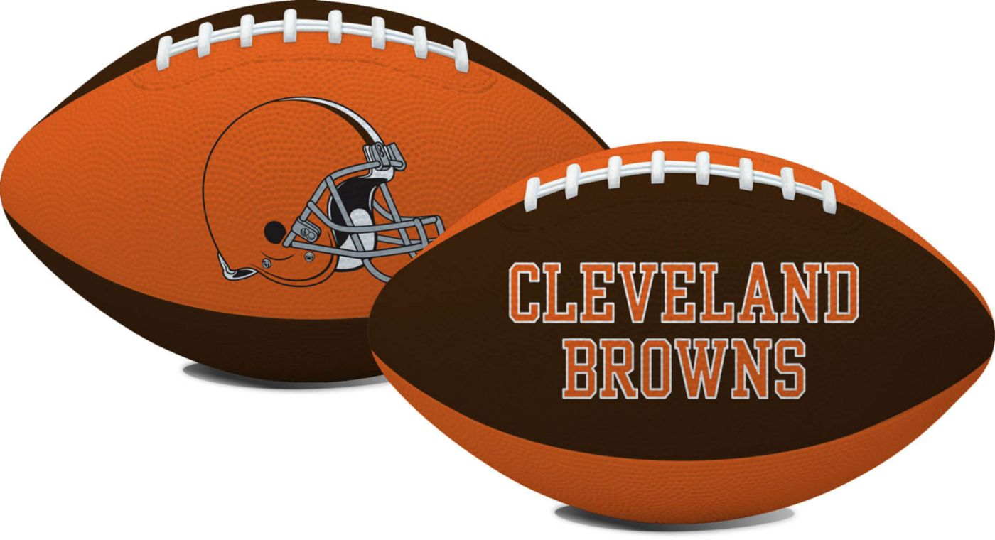 Rawlings Cleveland Browns Hail Mary Mini Rubber Football