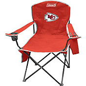 Coleman Kansas City Chiefs Quad Chair with Cooler