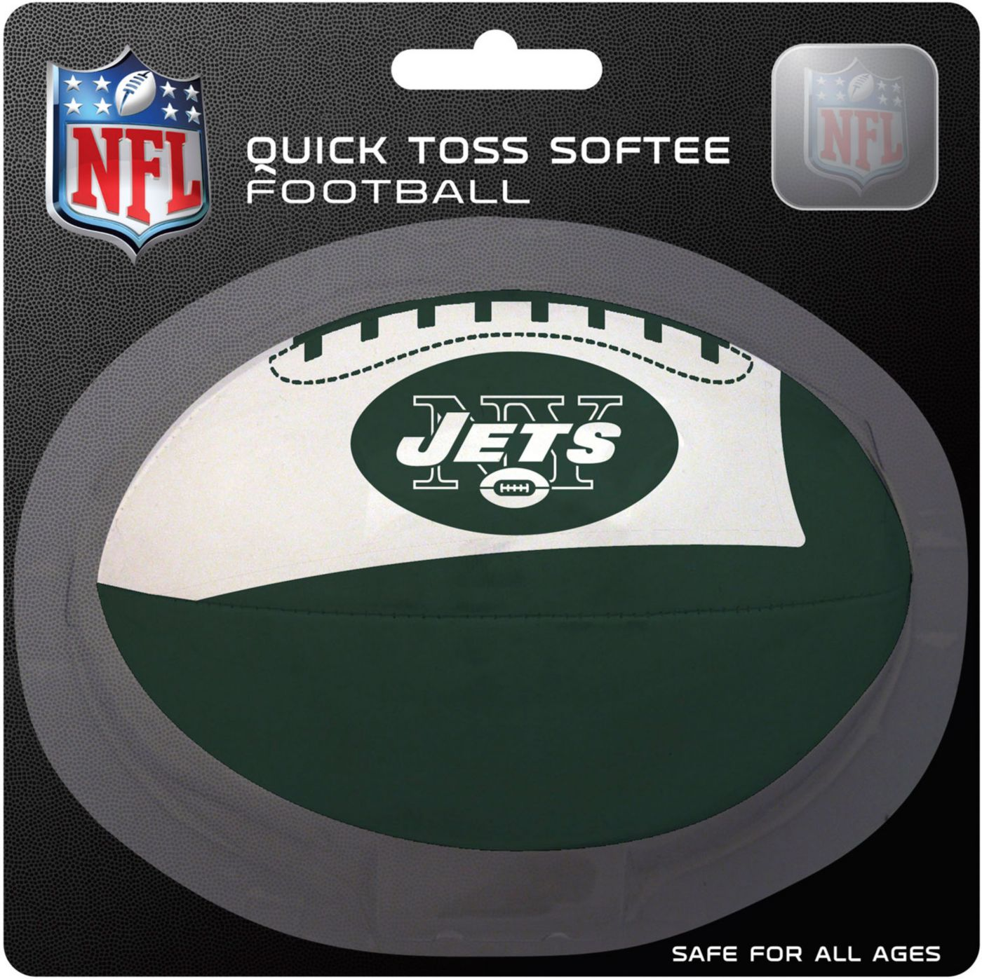 Rawlings New York Jets Quick Toss Softee Football