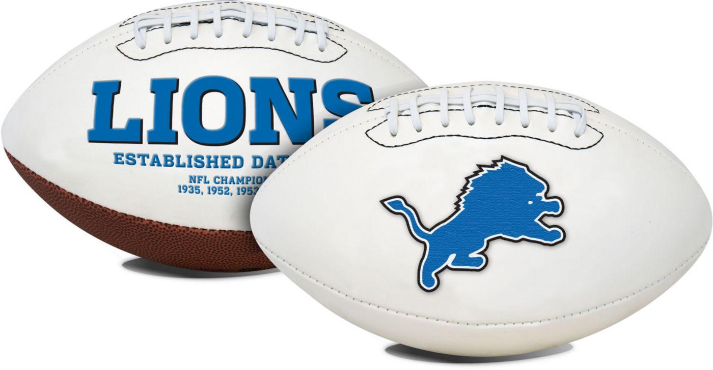 Rawlings Detroit Lions Signature Series Full-Size Football