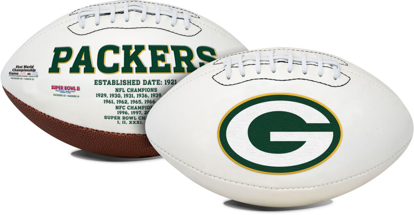 Rawlings Green Bay Packers Signature Series Full-Size Football