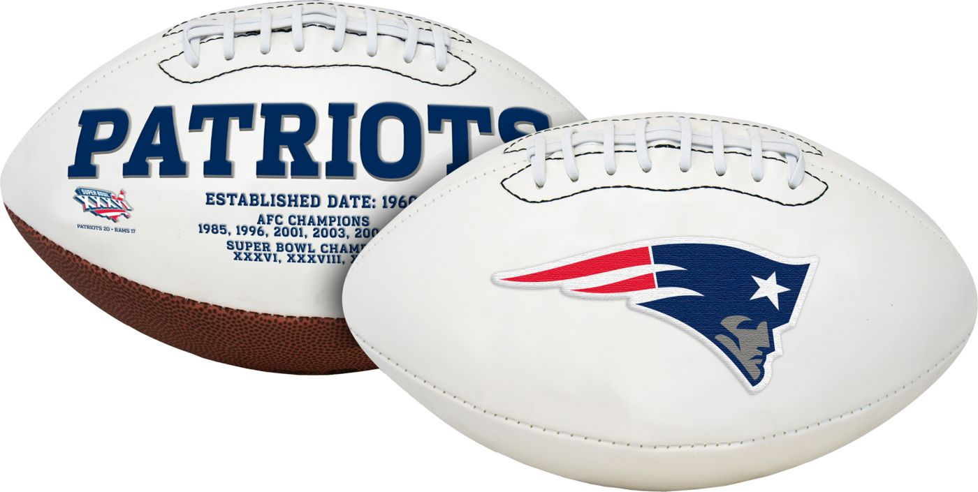 Rawlings New England Patriots Signature Series Full-Size Football