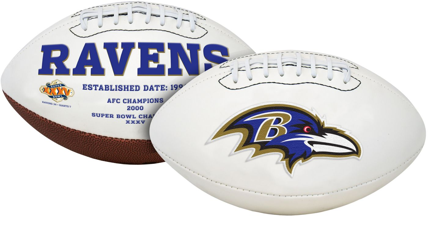 Rawlings Baltimore Ravens Signature Series Full-Size Football