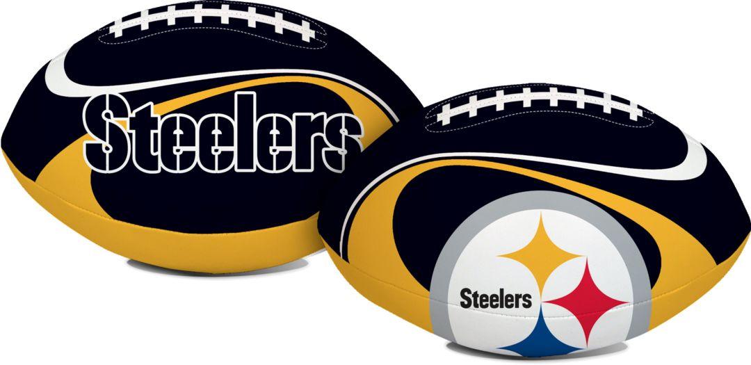 huge selection of 5c6fa b4a68 Rawlings Pittsburgh Steelers Goal Line Softee Football