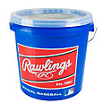 Rawlings Official League Leather Baseball Bucket - 24 Pack