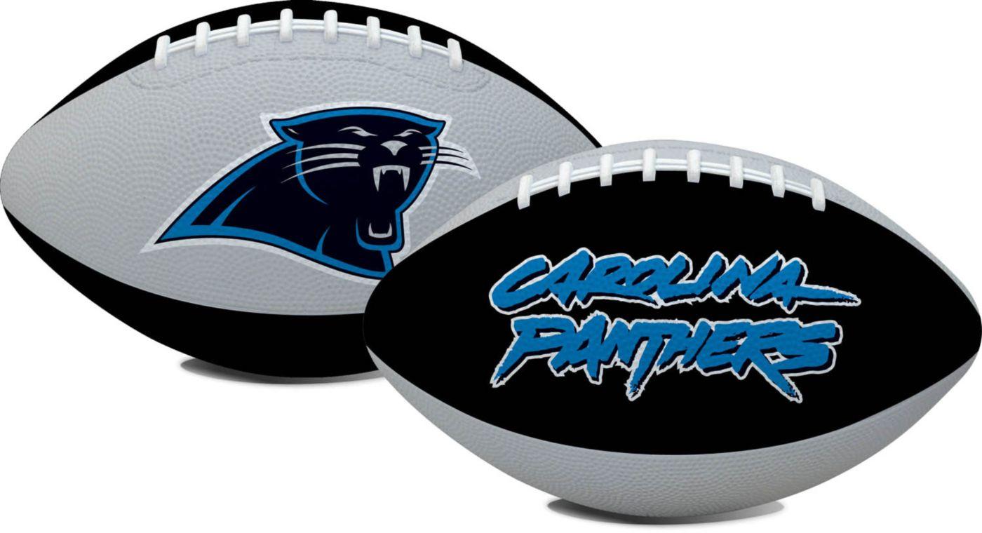 Rawlings Carolina Panthers Hail Mary Youth-Size Rubber Football