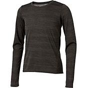 Reebok Girls' Hem Detail Striped Long Sleeve Shirt