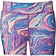 Reebok Girls' 3'' Printed Compression Shorts
