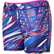 Reebok Girls' Warm Weather Printed 3'' Shorts