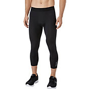 Reebok Men's 3/4 Compression Tights in Caviar