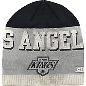 CCM Men's Los Angeles Kings Wordmark Knit Beanie