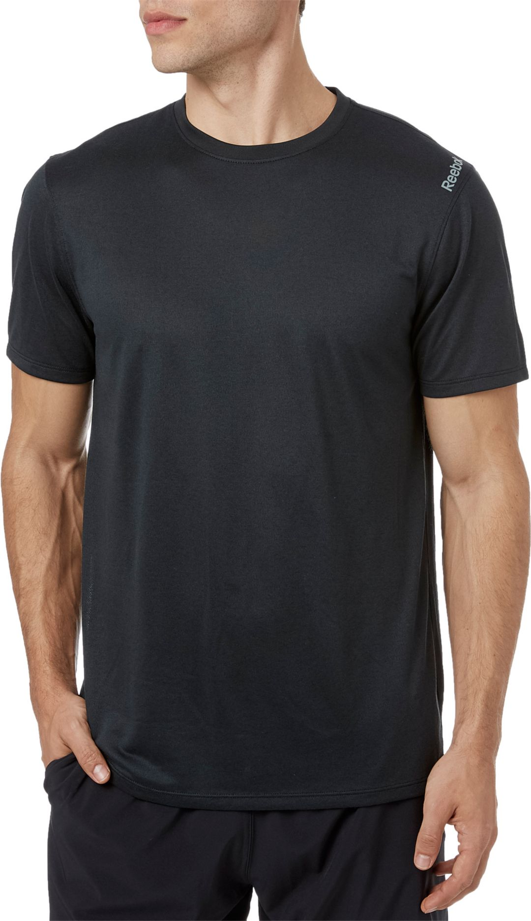 ec91d7e126 Reebok Men's Solid Performance T-Shirt