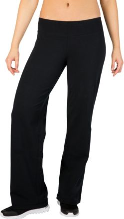 cf07dcbb1ff681 Reebok Women  39 s Fitness Essentials Regular Fit Pants