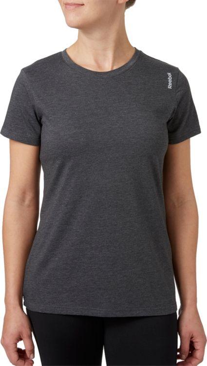 Reebok Women s Crewneck Jersey T-Shirt. noImageFound dae9480cabc
