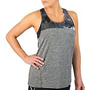 Reebok Women's Printed Mesh Running Tank Top