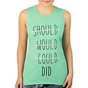 Reebok Women's Should Would Could Did Graphic Tank Top