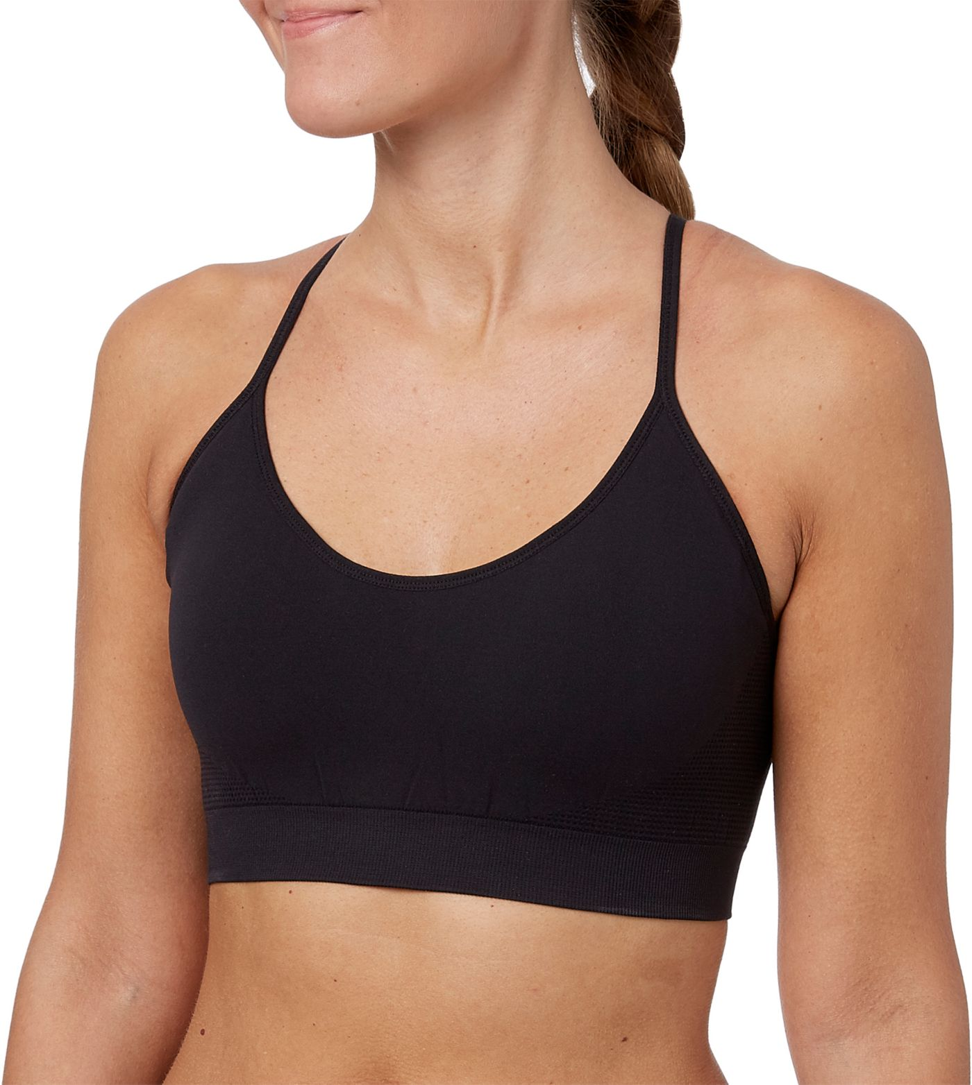 Reebok Women's Strappy Cami Seamless Sports Bra