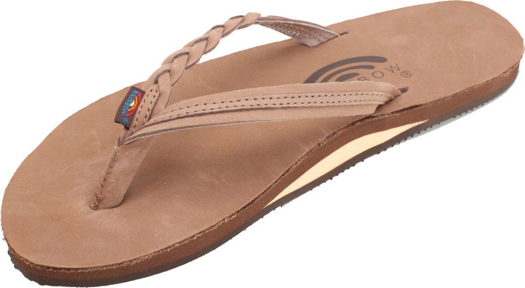 479e1bf555 Rainbow Women's Leather 301 Flip Flops