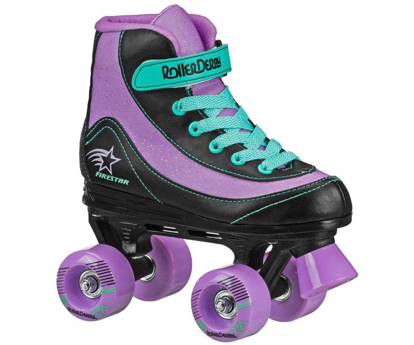 Roller Derby Girls' Firestar Quad Roller Skates