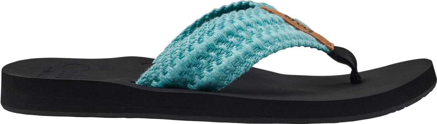 Reef Women's Cushion Threads Flip Flops