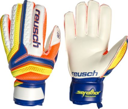 Reusch Adult Serathor SG Finger Support Soccer Goalkeeper Gloves ... f4940023af