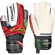 Reusch Junior Receptor RG Finger Support Soccer Goalkeeper Gloves