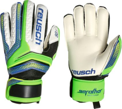 Reusch Junior Serathor SG Finger Support Soccer Goalkeeper Gloves.  noImageFound 9cbb8dd3a