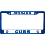 Rico Chicago Cubs Blue Chrome License Plate Frame