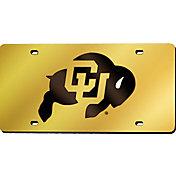 Rico Colorado Buffaloes Gold Laser Tag License Plate