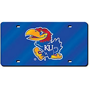 Rico Kansas Jayhawks Blue Laser Tag License Plate