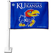 Rico Kansas Jayhawks Car Flag